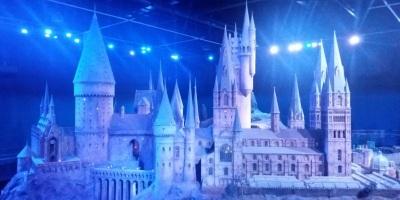 Das ist ein Foto einer Schulklasse von Hogwarts