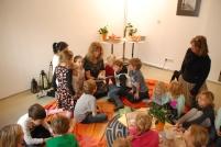 Barbara Tolliner mit der 2b der Volksschule Leoben-Stadt mit ihrer Lehrerin, Frau Barbara Steiner.